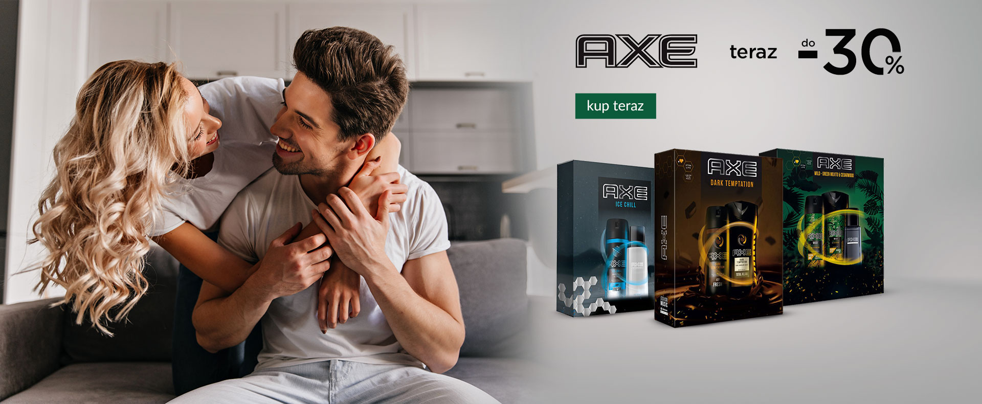 Ezebra Ezebra: do 30% zniżki na produkty marki Axe