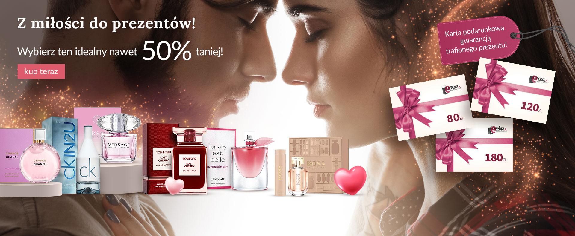 Ezebra Ezebra: do 50% rabatu na zestawy kosmetyków - prezent na Walentynki