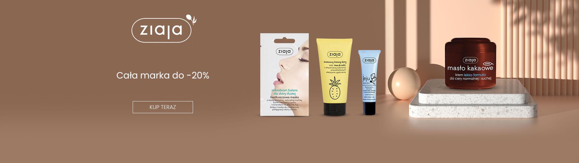 Ezebra: do 20% zniżki na kosmetyki marki Ziaja