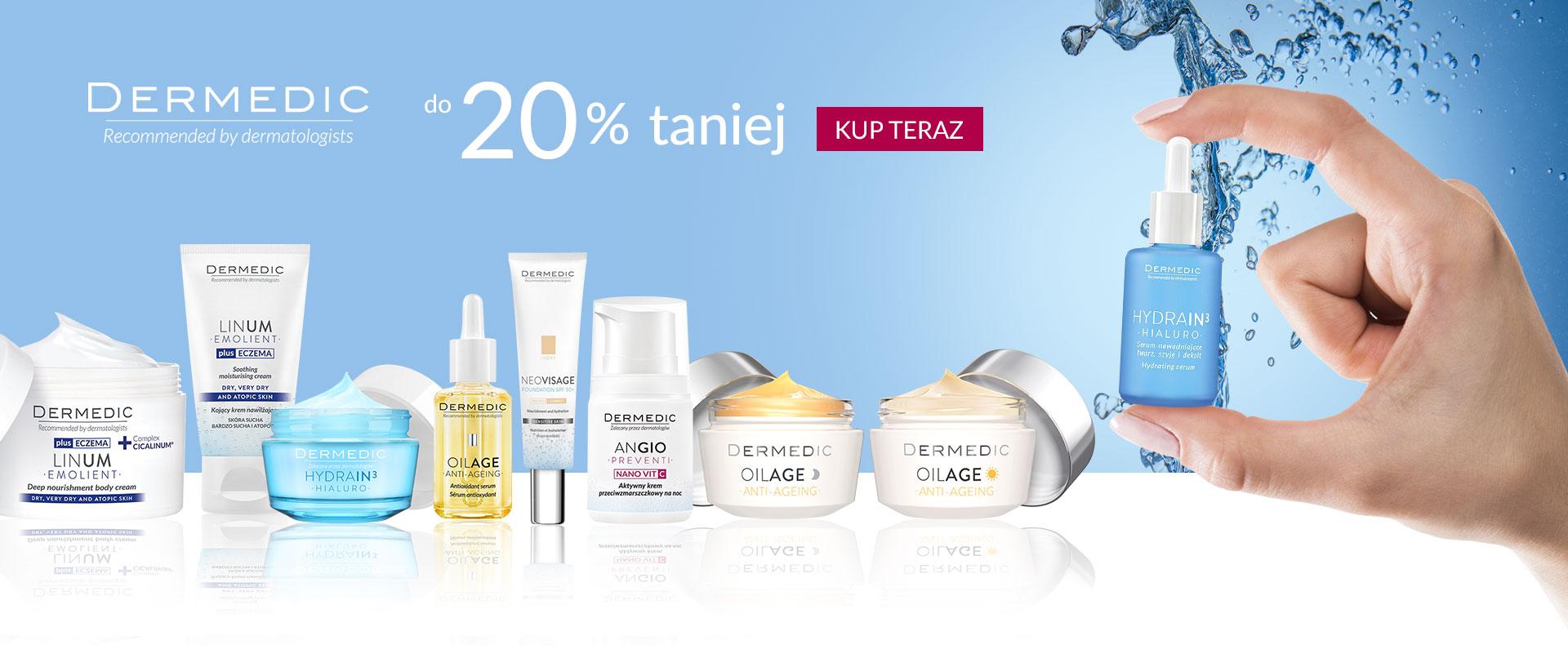 Ezebra Ezebra: do 20% zniżki na kosmetyki marki Dermedic