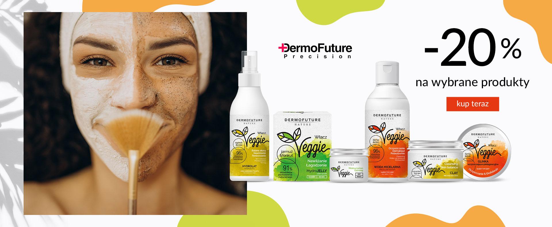 Ezebra Ezebra: 20% zniżki na wybrane kosmetyki marki DermoFuture