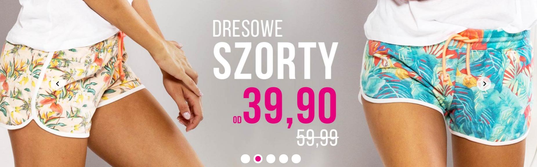 Butik: dresowe szorty od 39,90 zł