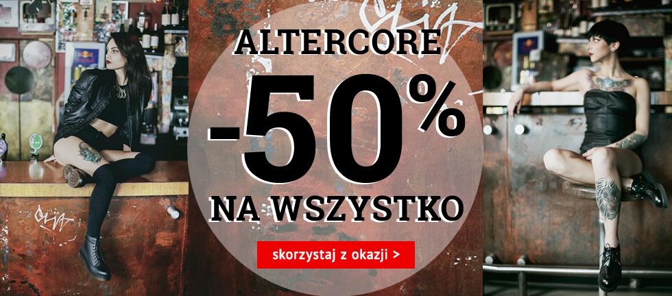 EButy: 50% rabatu na obuwie marki ALTERCORE