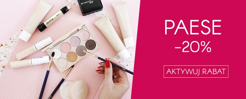Ekobieca: 20% zniżki na kosmetyki do makijażu Paese