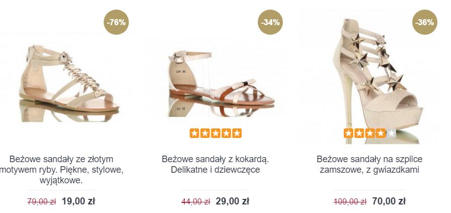 Ekstra Szpilki: wyprzedaż do 75% zniżki na damskie obuwie