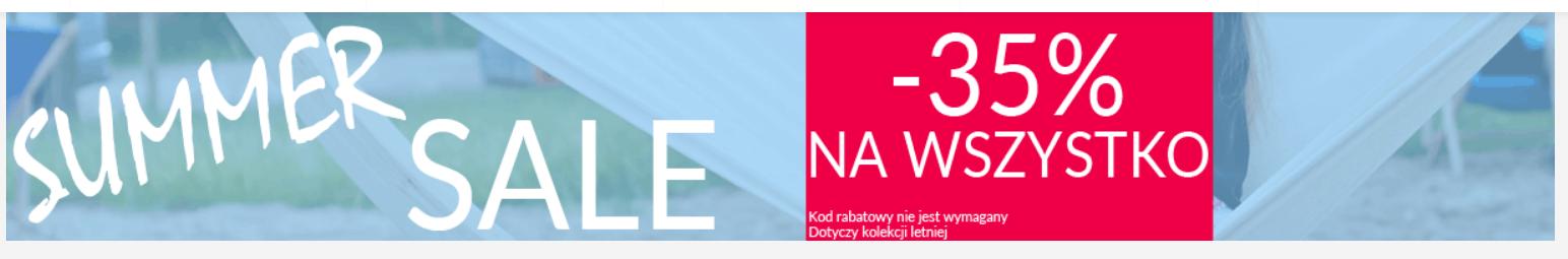 Ekstra Szpilki: wyprzedaż 35% zniżki na wszystko z kolekcji letniej