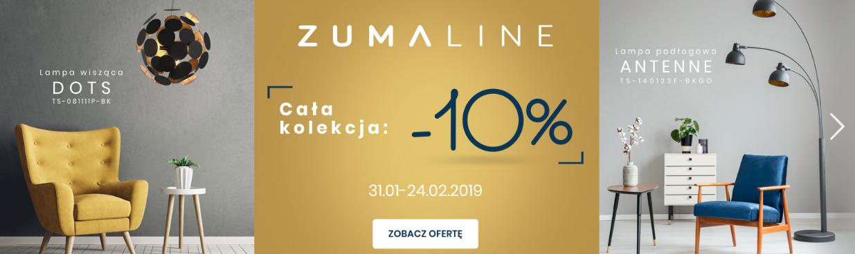 Elampy.pl: 10% rabatu na oświetlenie marki Zumaline                         title=