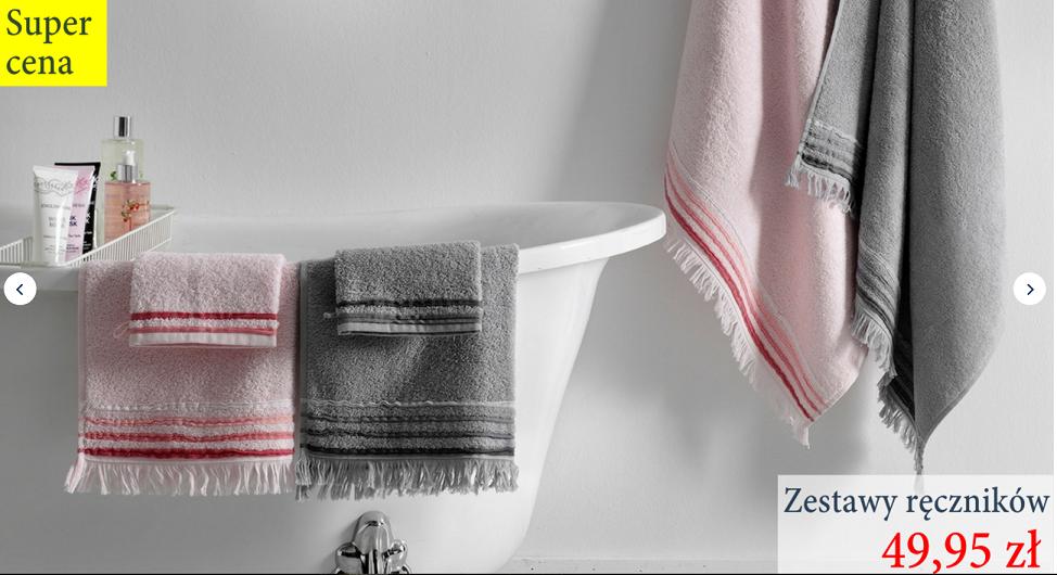 English Home: zestawy ręczników za 49,95 zł