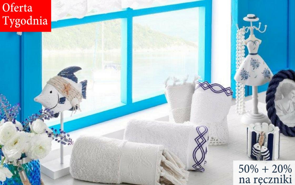 English Home: 50%  zniżki na zestawy kąpielowe + 20 % zniżki na ręczniki