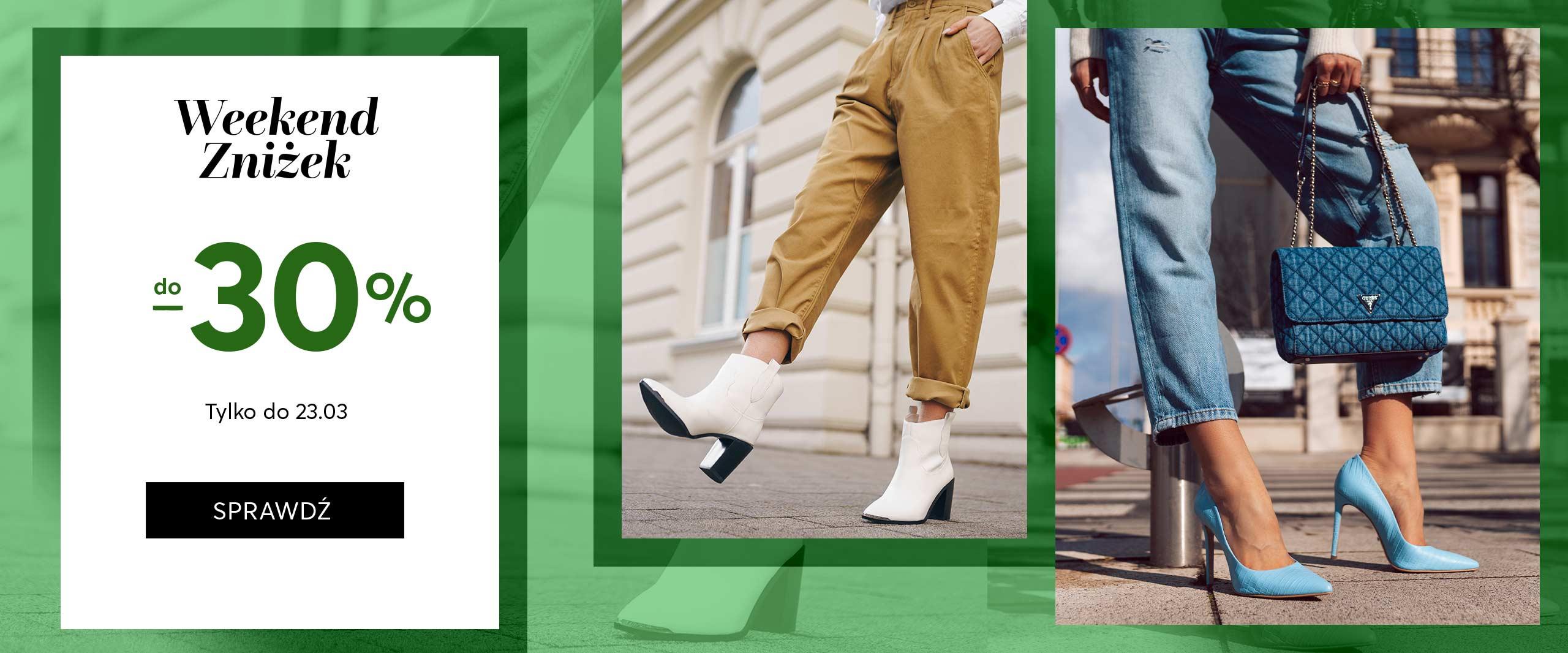 Eobuwie: do 30% rabatu na buty, torby i akcesoria                         title=