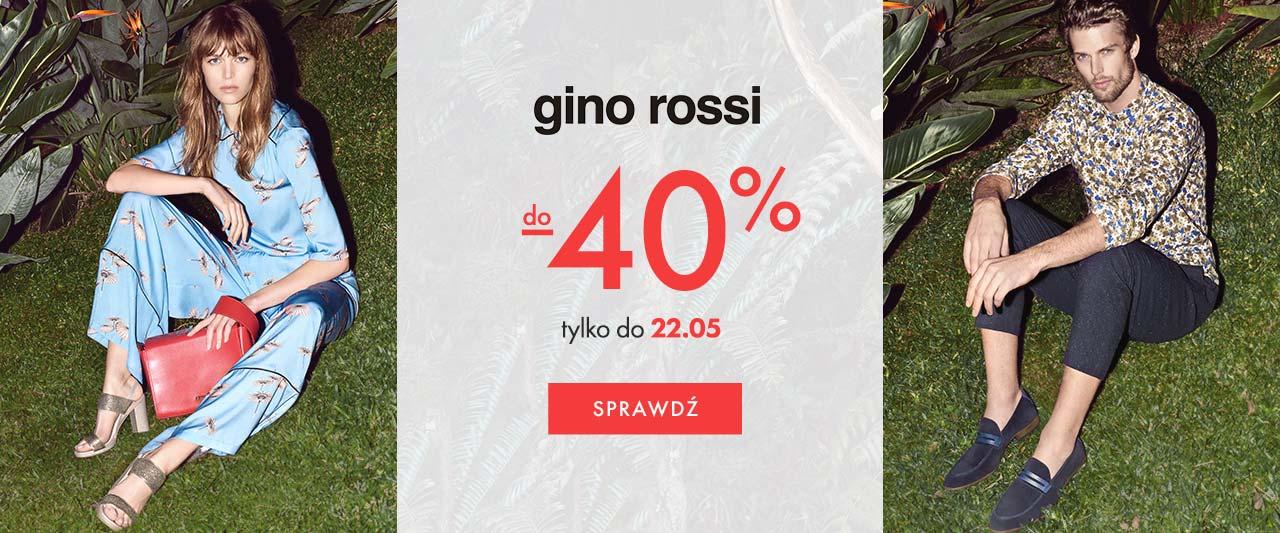 Eobuwie: do 40% rabatu na torebki i obuwie marki Gino Rossi                         title=