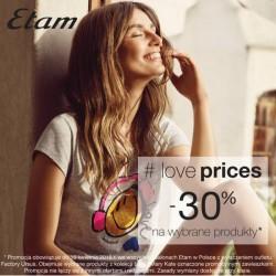 Etam: 30% zniżki na bieliznę i piżamy