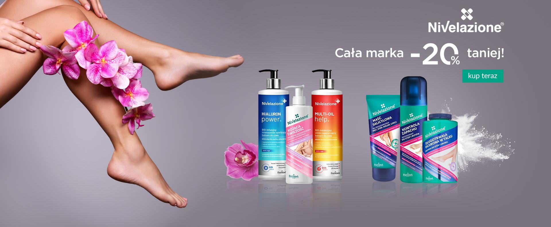 Ezebra: 20% zniżki na kosmetyki marki Nivelazione