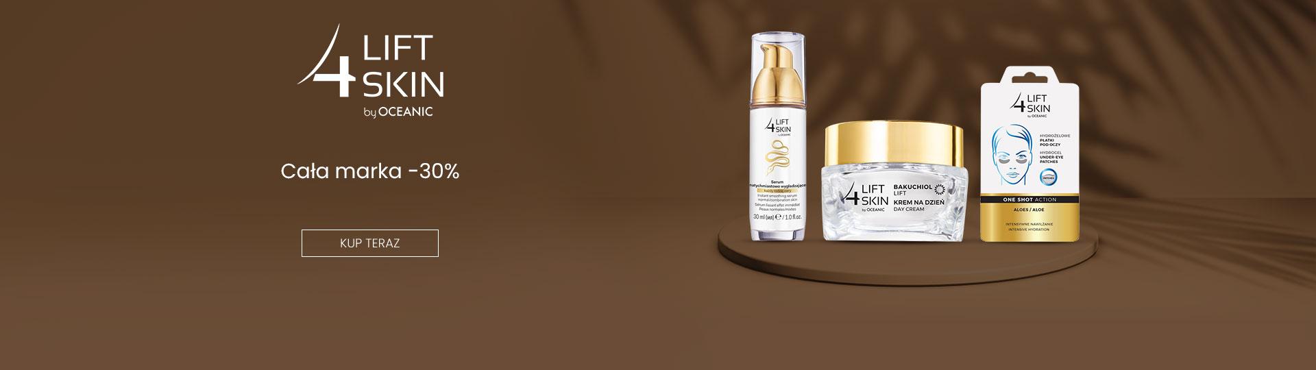 Ezebra: 30% zniżki na kosmetyki marki 4 Lift Skin