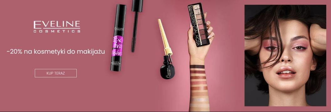 Ezebra Ezebra: 20% rabatu na kosmetyki do makijażu Eveline Cosmetics