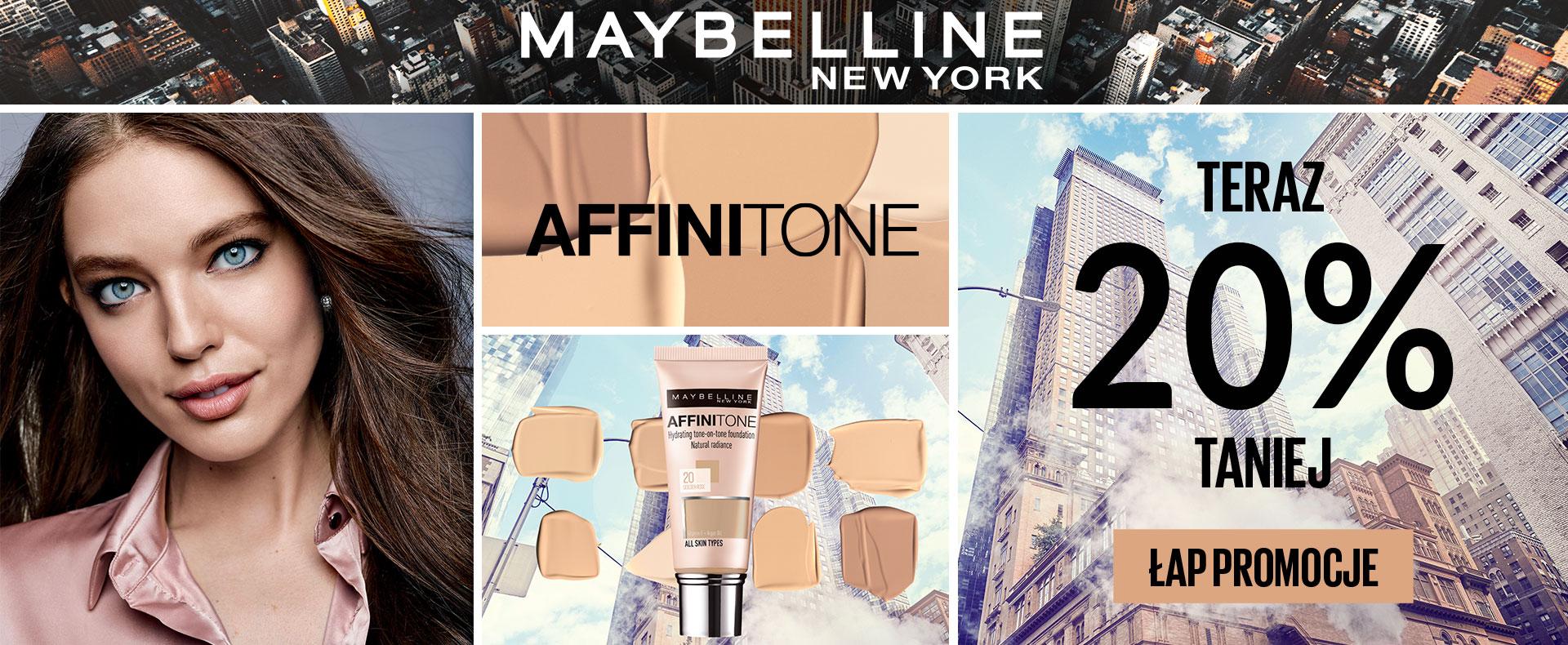 Ezebra: 20% zniżki na kosmetyki marki Maybelline New York                         title=