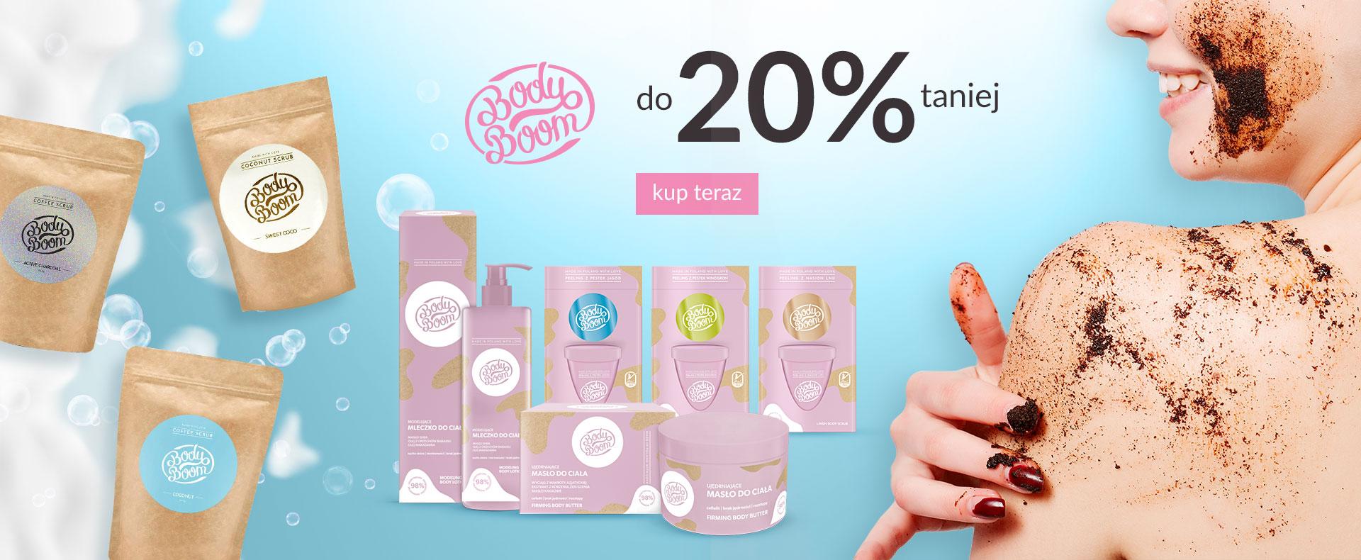Ezebra: do 20% zniżki na kosmetyki marki Body Boom                         title=