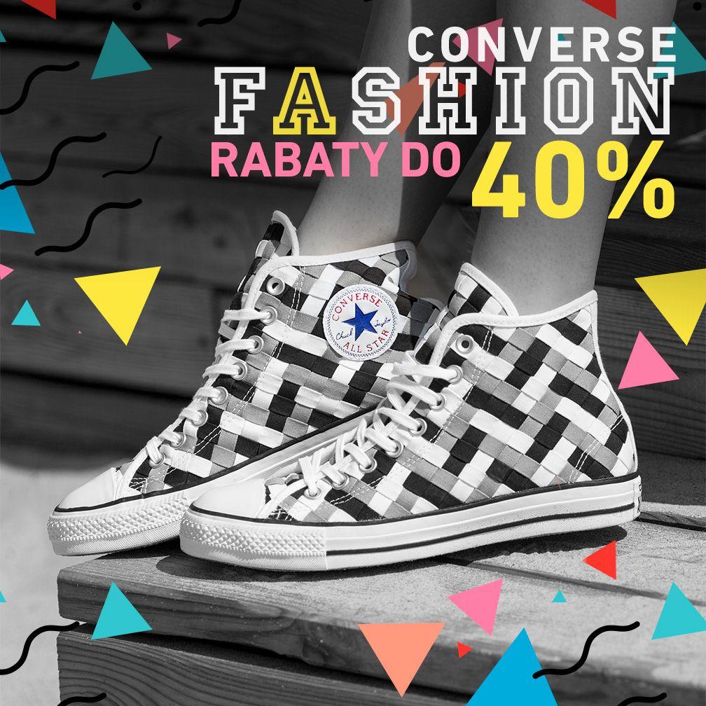 Eastend: do 40% zniżki na buty marki Converse