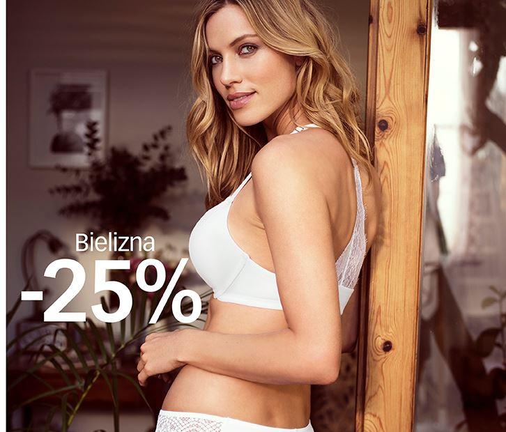 Cubus: 25% rabatu na bieliznę damską