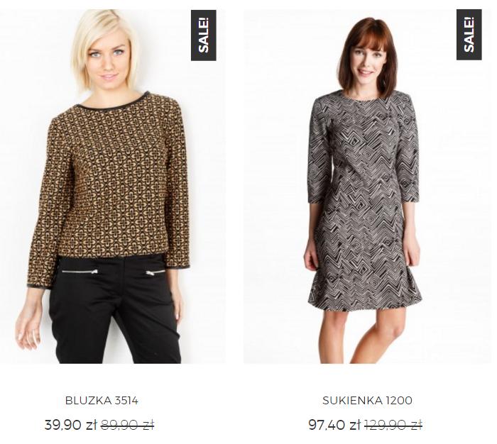 Grey Wolf: wyprzedaż do 50% zniżki na sukienki, bluzki, swetry, spódnice z kategorii outlet