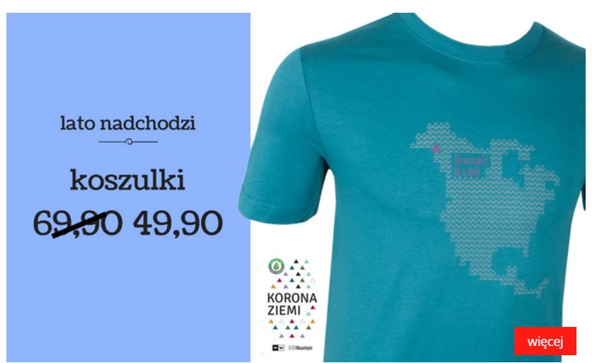 HiMountain: koszulki na lato za 49,90 zł                         title=