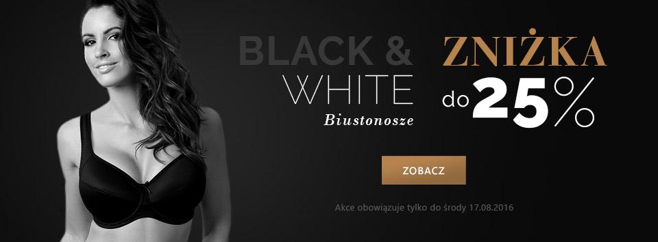 Astratex: do 25% zniżki na czarne i białe biustonosze