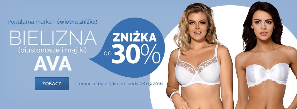 Astratex: do 30% rabatu na bieliznę marki AVA
