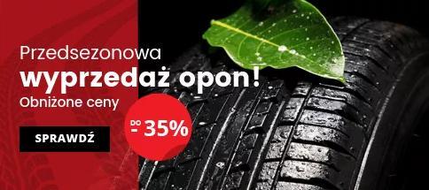 IParts: wyprzedaż do 35% zniżki na opony do samochodu