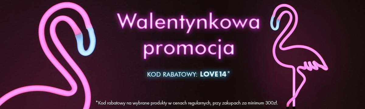 Iluve: Walentynkowa promocja 14% rabatu na lampy i oświetlenie