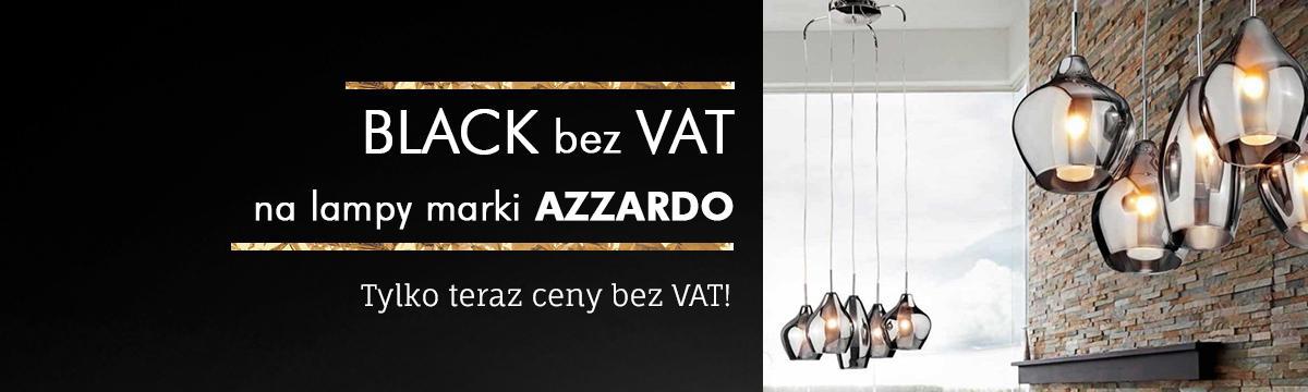 Black Friday Iluve: 23% zniżki na lampy marki Azzardo