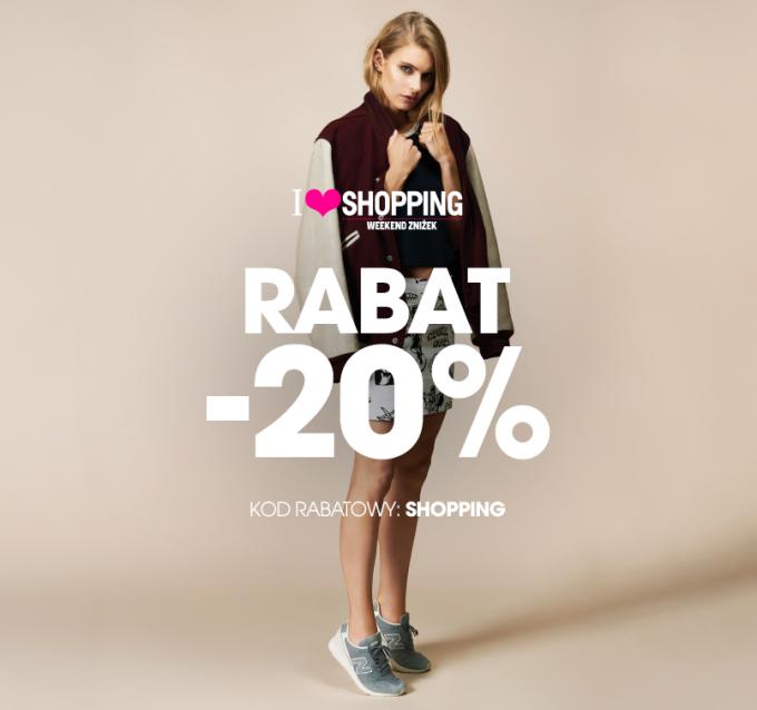 New Balance: 20% zniżki na cały asortyment na wszystkie nieprzecenione produkty