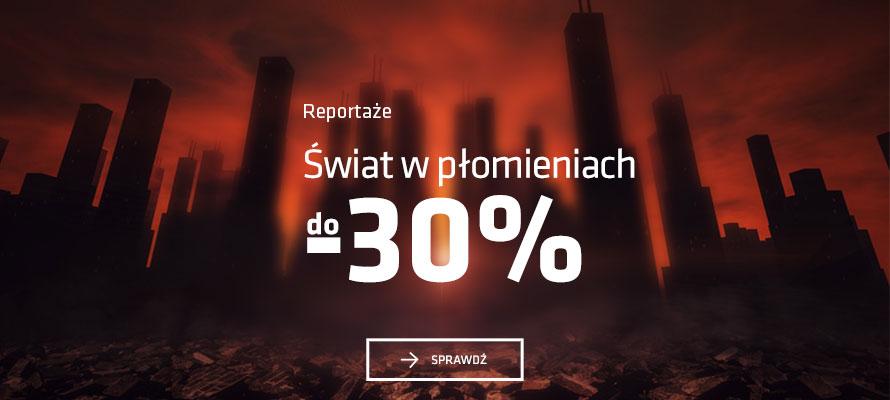 Matras: do 30% zniżki na reportaże