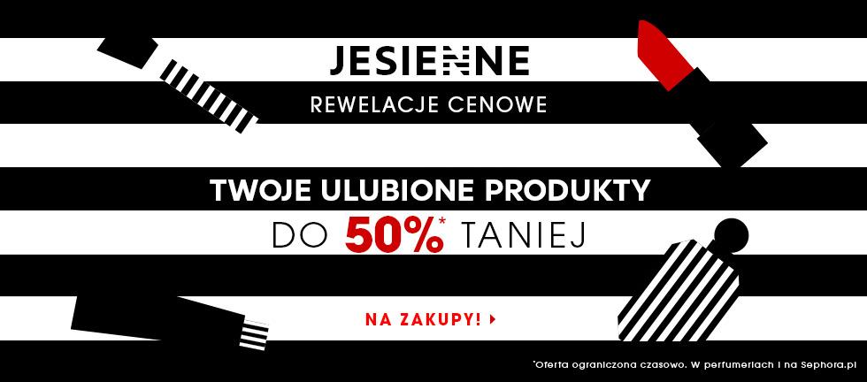 Sephora: do 50% zniżki Twoje ulubione produkty