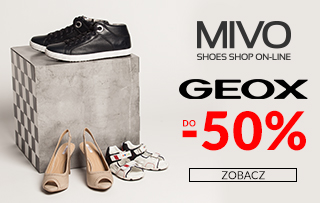 Mivo: wyprzedaż butów GEOX do 50% zniżki