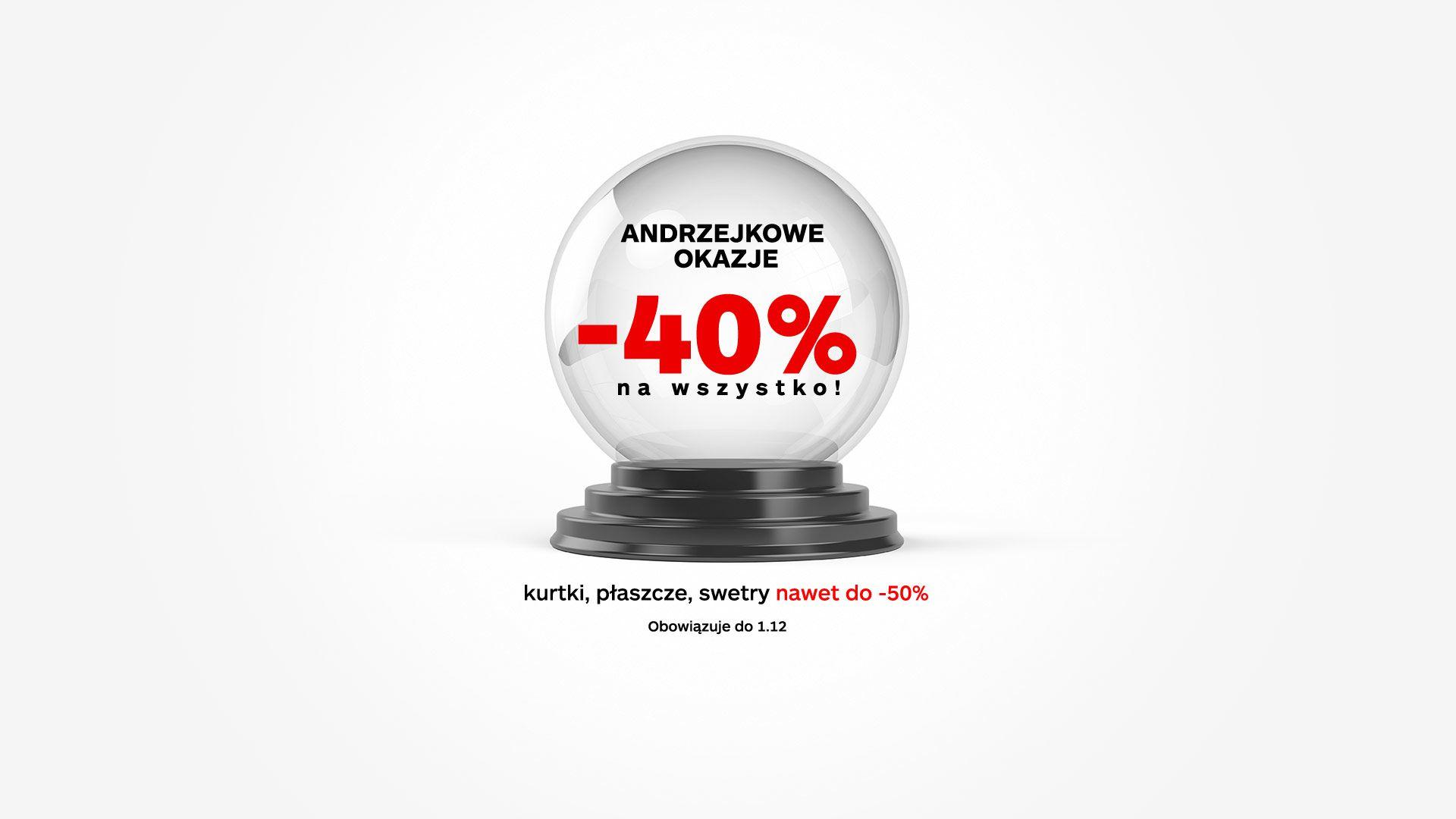 Monnari: Andrzejkowe Okazje 40% rabatu na wszystko