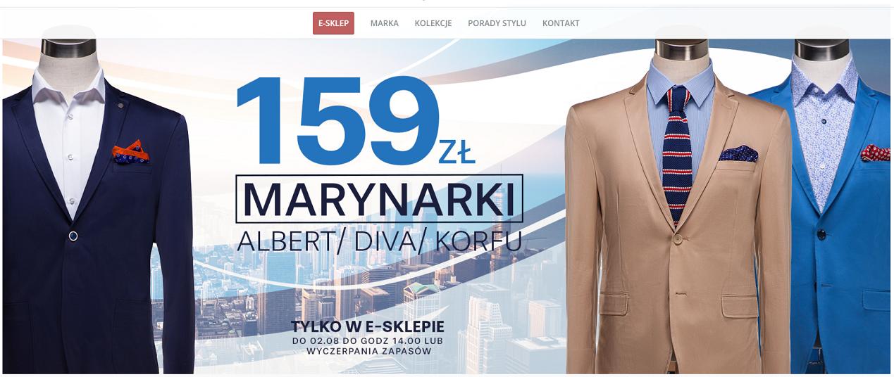 9acee6930d95f Pawo: marynarki marek Albert, Diva, Korfu za 159 zł