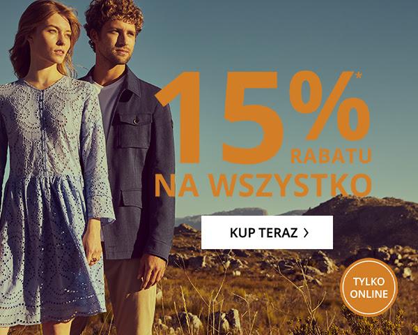 Peek & Cloppenburg: 15% zniżki na wszystko