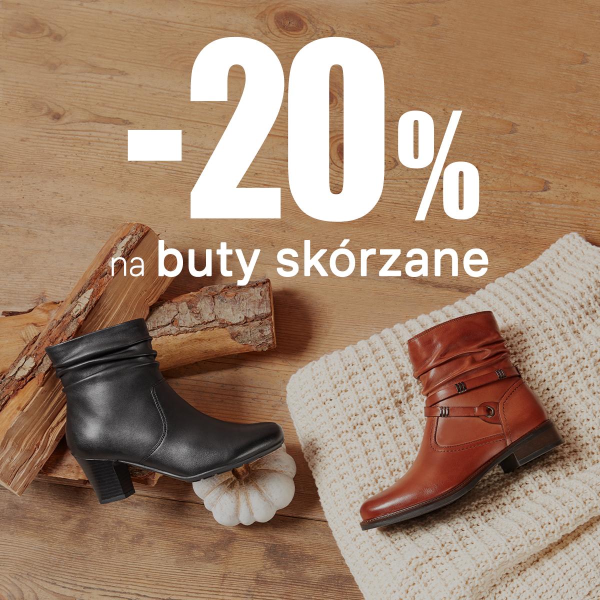 Deichmann: 20% rabatu na nieprzecenione buty skórzane                         title=