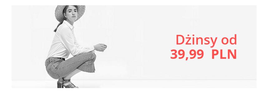 Stradivarius: na spodnie jeansowe od 39,99 zł