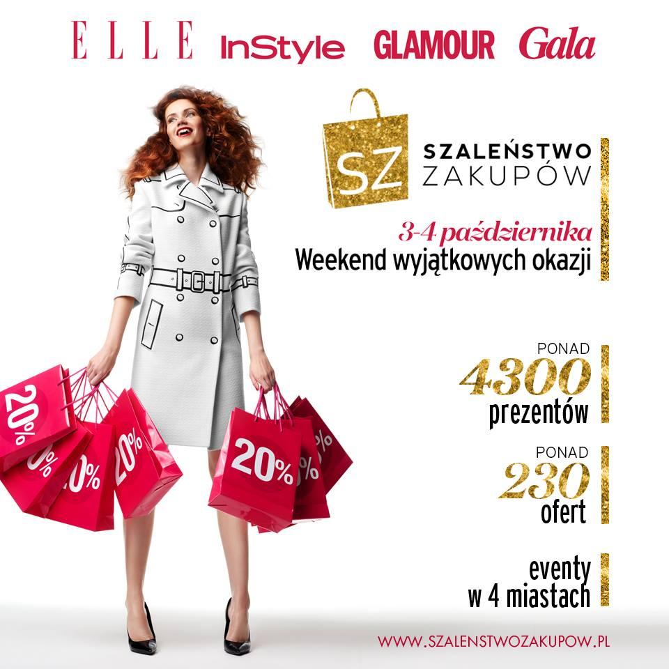Szaleństwo Zakupów w całej Polsce 3-4 października 2015