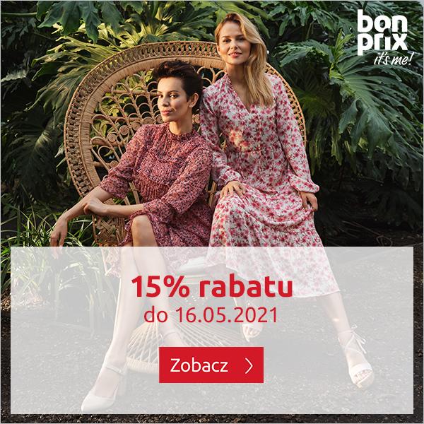 Bon Prix: 15% rabatu na odzież, obuwie oraz akcesoria