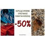 Scotfree: 50% zniżki na koszule przy zakupie spodni