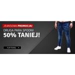 Ombre: 50% zniżki na drugą parę spodni jeansowych