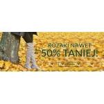 Pantofelek24: do 50% zniżki na kozaki