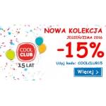 Smyk: 15% zniżki na ubrania i buty Cool Club z kolekcji jesień-zima 2016