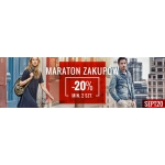 Answear: 20% rabatu przy zakupie min. 2 produktów z kategorii Maraton Zakupów