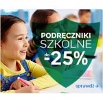 Empik: do 25% zniżki na podręczniki szkolne