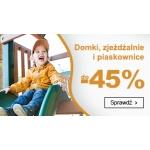 Smyk: do 45% rabatu na domki, zjeżdżalnie i piaskownice