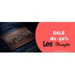 Bluestilo: wyprzedaż do 50% rabatu na produkty marek Lee i Wrangler