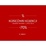 5.10.15.: wyprzedaż do 70% rabatu końcówki kolekcji z sezonu wiosna/lato 2016